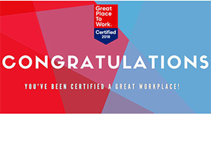 Certified Great Place To Work
