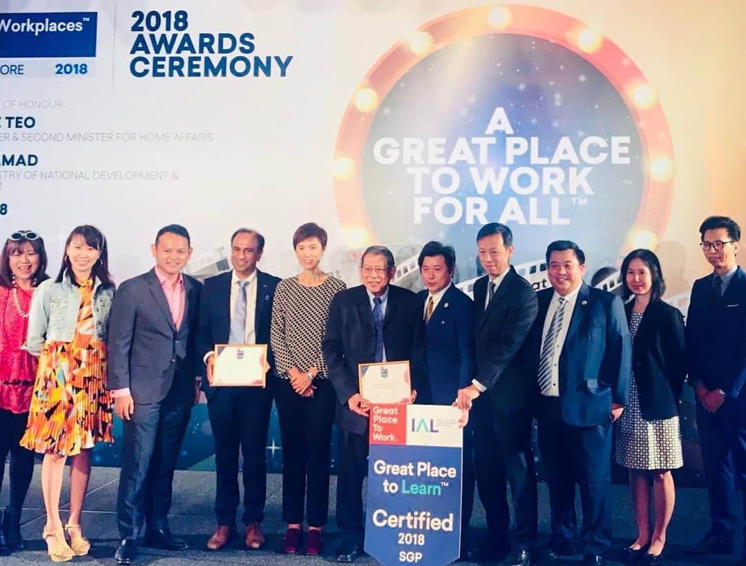SHALOM awarded Great Place to Work/ Great Place to Learn Certified
